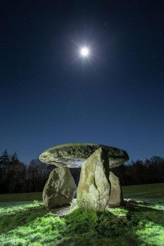 Spinster's Rock, Drewsteignton, England